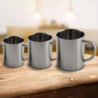 Portable Mug Cup with Handle Double Wall Stainless Steel Insulation Hot Mug Travel Camping Hiking Tumbler Coffee Mug Tea Cup
