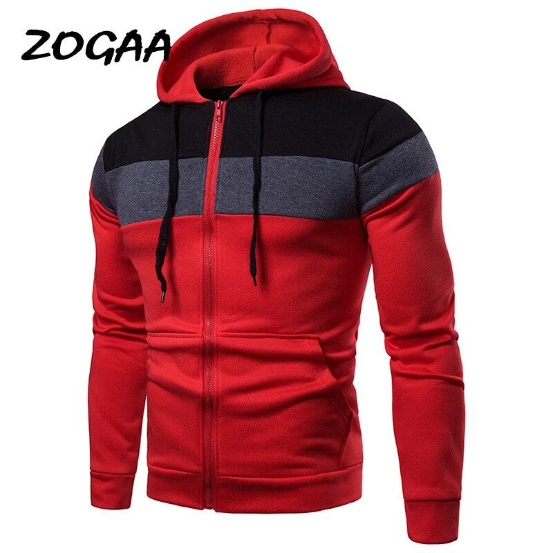 Мужские худи с капюшоном ZOGAA, осенне-зимние модные худи в стиле ретро