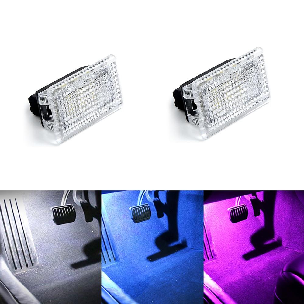 1/2/4/8Pc Ultra Heldere Led-lampen Kit Kofferbak Frunk Licht Voor Tesla Model X S 3 Gemakkelijk Plug Vervanging Led Interieur Lamp