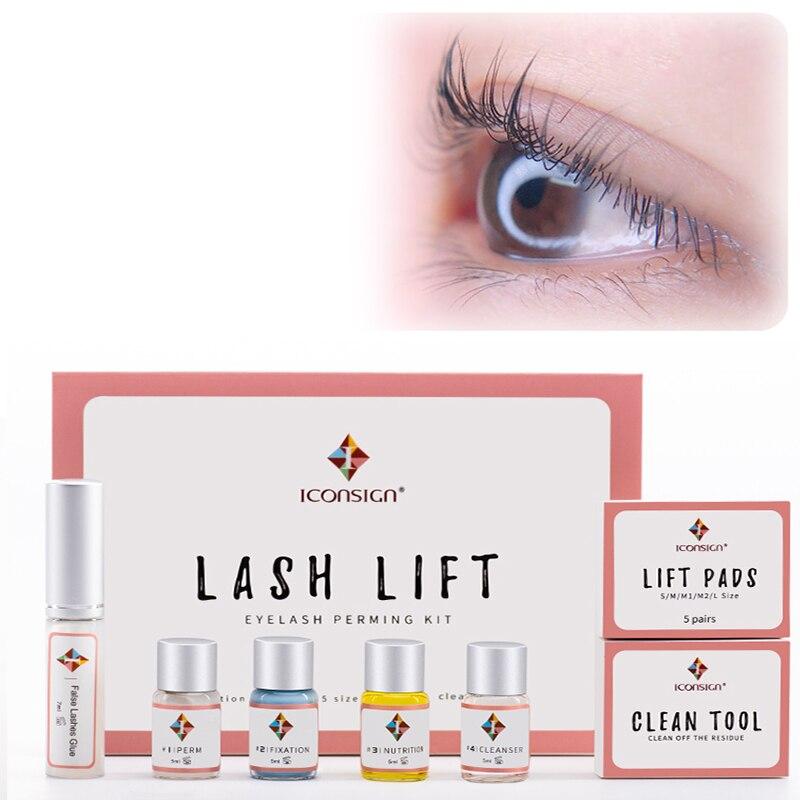 15 sets/lot Professional Mini Eyelash Lift Kit eyelash lift Cilia Tools perming kits with Perm Rods Y-Brushes