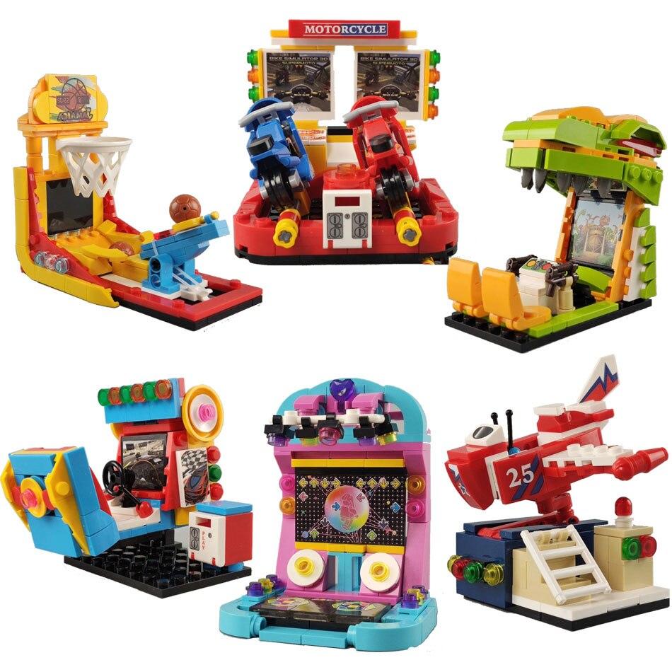 880pieces-mini-gaming-room-building-blocks-classic-moc-shoot-game-dance-machine-bricks-city-street-view-idea-toys-for-children