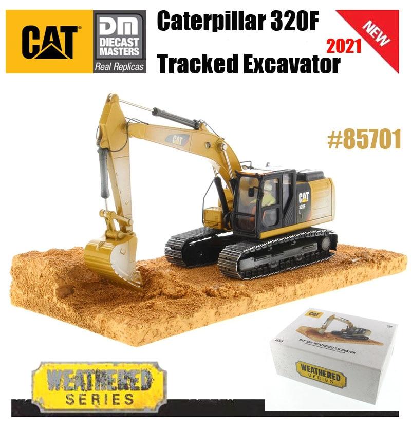 2021 новый бренд Diecast Masters Caterpillar 1/50 весы кошка 320F гусеничный экскаватор-выветривания серии 85701 для коллекции