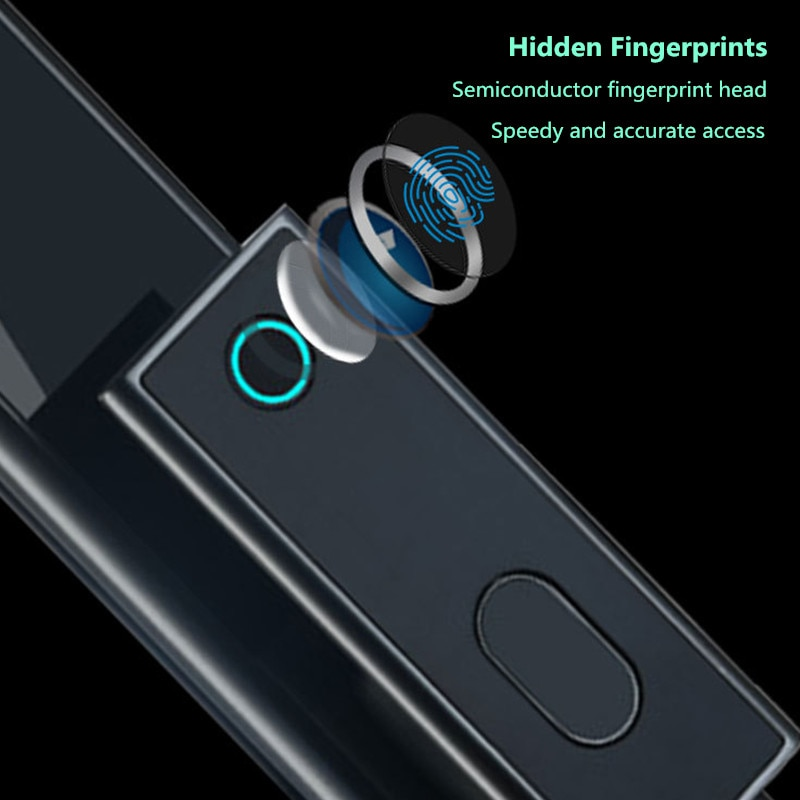 Eastern NO.2 Cat Eye Smart Lock Home Automatic Smart Fingerprint Lock Anti-theft Smart Door Lock Outdoor Electronic Code Lock