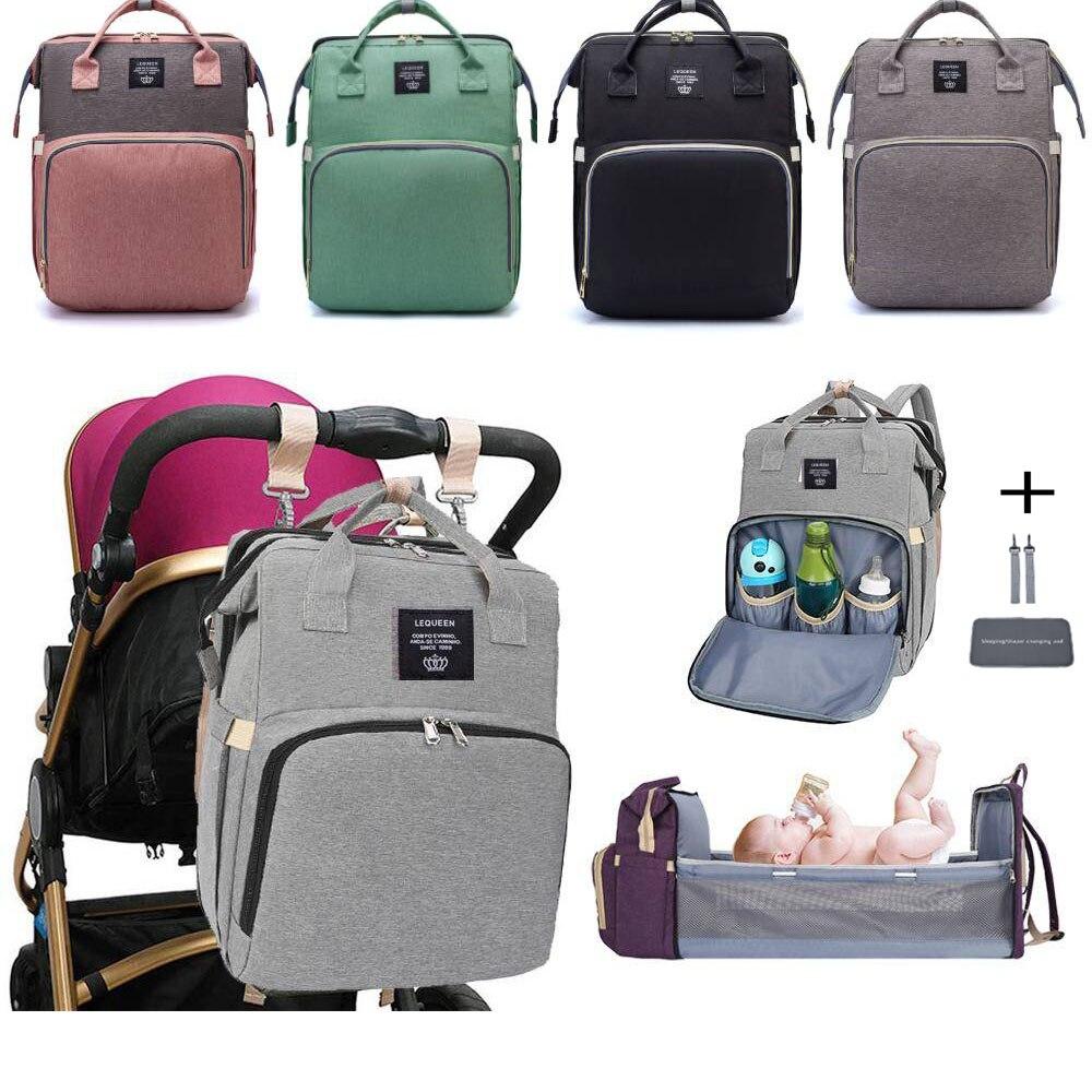 Bolsas de lujo Para bebé Para mamá, Coton multifuncional, organizador de ropa Para bebé, bolsa Para mamá, Mochilas Para Mujer, suministros Para mamás ab50 mm