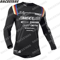 dharco motocross jersey downhill short sleeve mtb jersey mx bmx racing off road dh mountain bike cycling jersey roupa ciclismo
