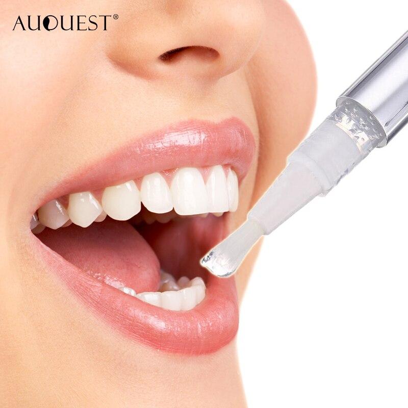 AuQuest Teeth Whitening Pen PC Peroxide Tooth Gel Dental Oral Care Teeth Whitening Paste Bleaching Tools