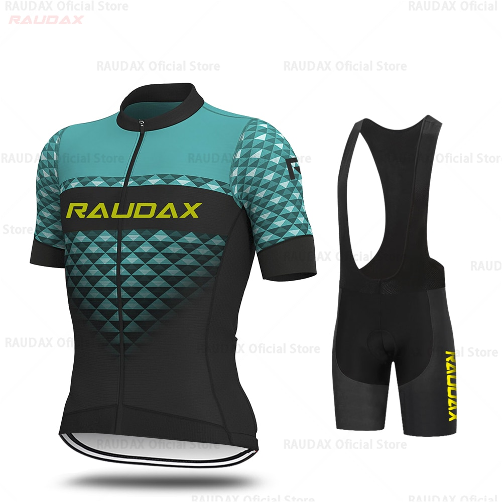 Conjunto de ropa de Ciclismo de equipo profesional para hombre, ropa de...