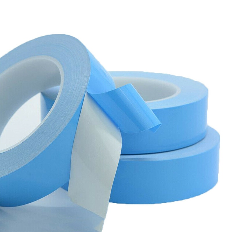 Multi-función de aislamiento térmico de conducción de doble cara cinta azul cine calor cinta adhesiva adhesivo de tela gruesa adhesivo