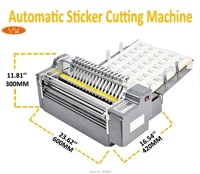 suitable for cutting all kinds of adhesive paper label sticker cutter