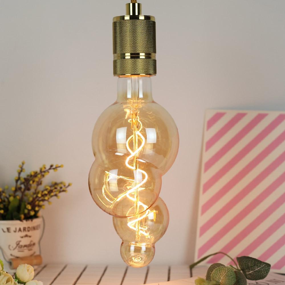 E27 Led Lamp Vintage Bulbs Edison Lights 220V/240V Home LED E27 Bulbs Bubble Decorative Home Bulbs