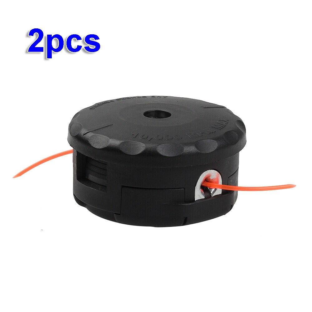 2 uds cadena cabezal de corte para Echo velocidad alimentar a 400 SRM-225 SRM-230 SRM-210 cadena cortador de cepillo de jardín cabezal de corte