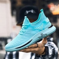 summer mesh casual shoes men trainers breathable non slip sneakers men lightweight loafers outdoor walking shoes