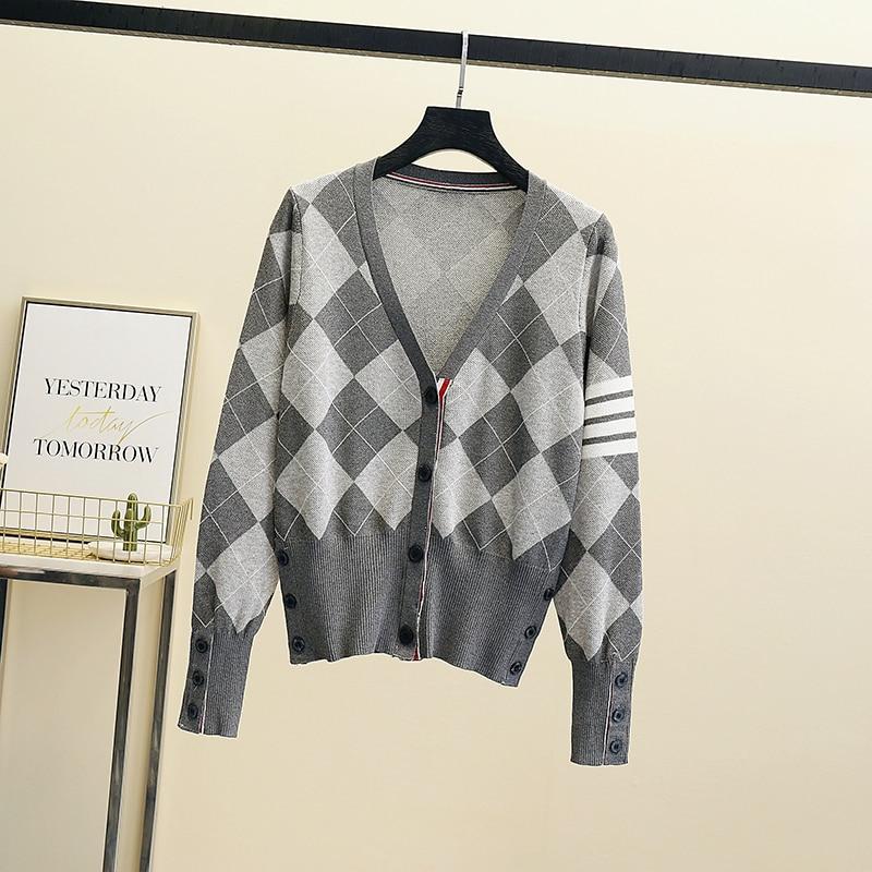 2021 High Quality Runway Designer Knitted Sweaters Pullovers Women Autumn Winter Long Sleeve Harajuku Sweet Jumper top Harajuku enlarge