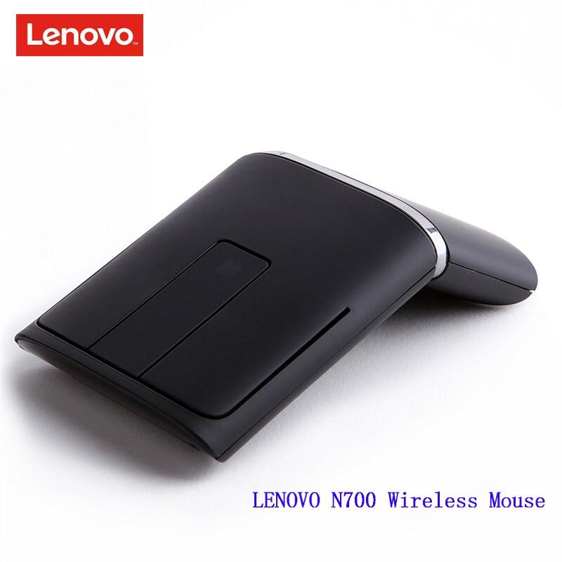 LENOVO N700 ratón inalámbrico de 2,4 GHz con lápiz láser 1200DPI ratón de doble conectividad USB PPT 3D táctil para oficina hogar para ordenador