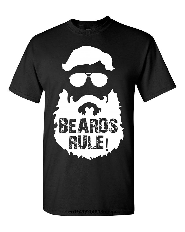 funny t shirts Elagos Beards Rule Men's Fashion T-shirt