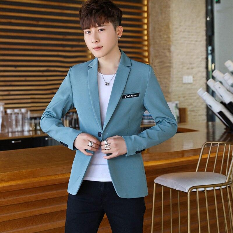 Chaqueta holgada informal para hombre, moda coreana, cárdigan Simple de alta calidad,...