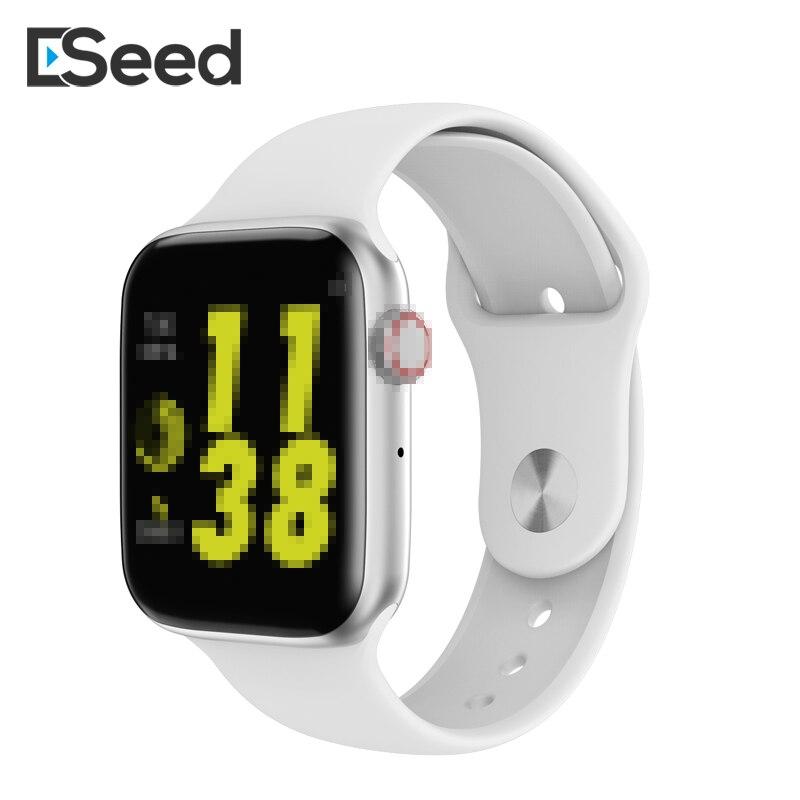 ESEED W34 reloj inteligente de llamada Bluetooth ECG Frecuencia Cardíaca Monito Smartwatch mujeres para android samsung huawei reloj PK d13 B57 iwo 8 9