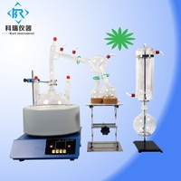 China factory price for SPD-2L short path lab distillation kit for cbd hemp essential oil /water oil distiller