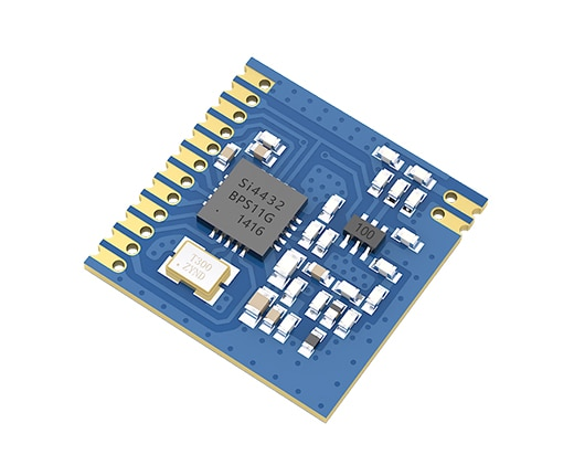 q118 rak439 low power tiny size high speed spi wifi module integrate tcp ip stack wireless iot module with external antenna SI4432 433MHz Wireless Module Small Size E27-433M20S SPI 1600m Communication Stamp Hole Antenna Wireless DataTransceiver