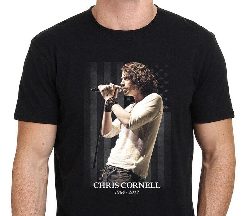 Chris Cornell Tribut Amerikanischen Rock T-Shirt Größe S-2Xl Individuell Bedruckte T-shirt