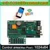 חדש HD-D35 מלא צבע LED סימן בקר תמיכת WIFI רשת RJ45 U-דיסק תקשורת רצועת-סוג וידאו מסך בקר