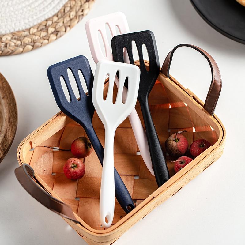 Силиконовые турнеры, гаджеты, кухонные инструменты, сковорода для жарки яиц и рыбы, ложка, жареная лопата, столовая посуда