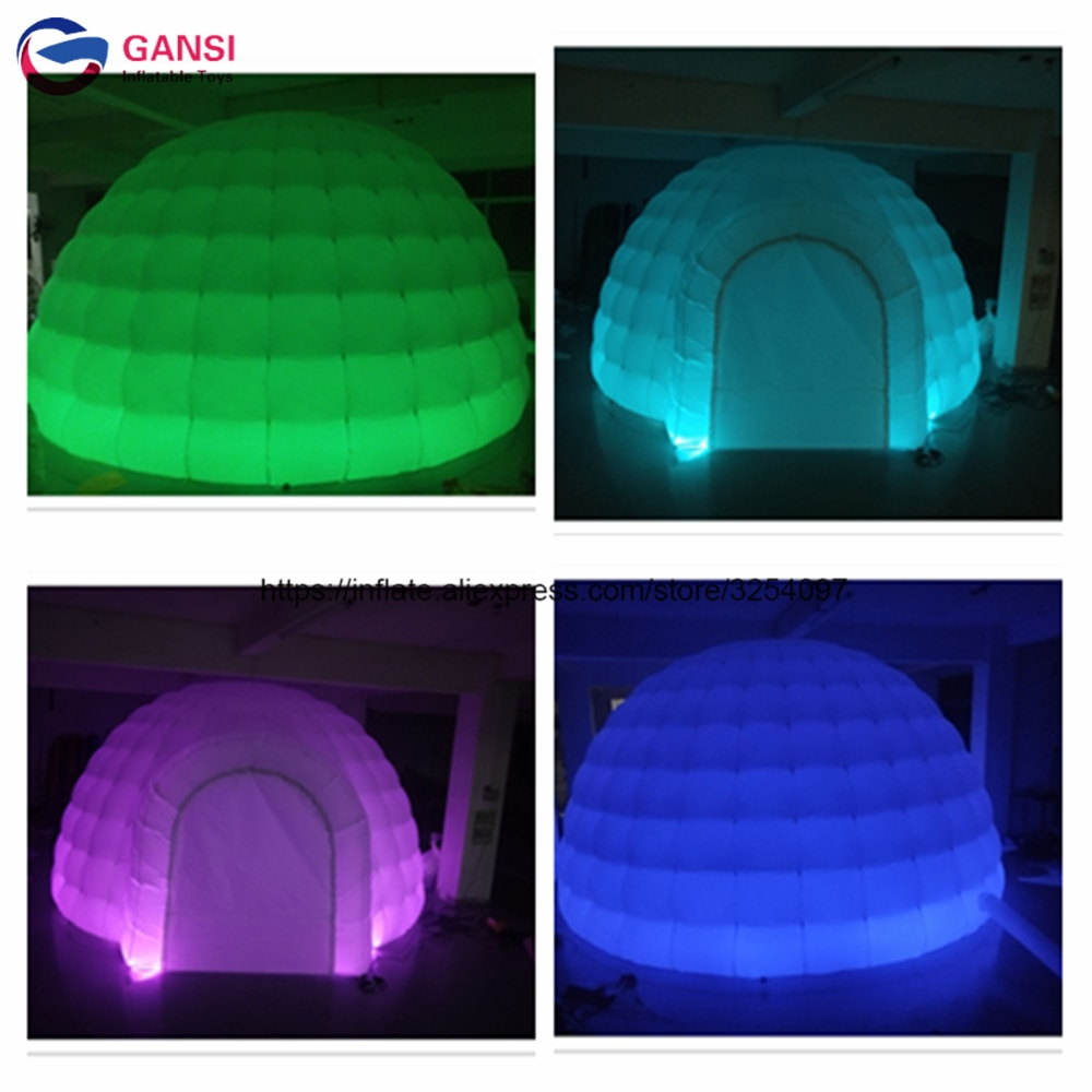 free shipping beautiful and romantic 10ft x 15ft 3m x 4 5m aluminum wedding party gazebo pop up tent event marquee awning Free shipping commercial inflatable led igloo tent oxford cloth inflatable party tent for wedding event