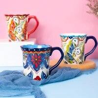 450ml ceramic coffee mug creative birthday gift coffee cup personality home milk mug used microwave drinkware free shipping