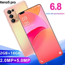 Reno5 Pro Smartphone HD Camera Android Cellphone 2GB RAM + 16GB ROM Memory Large Capacity Battery 4G