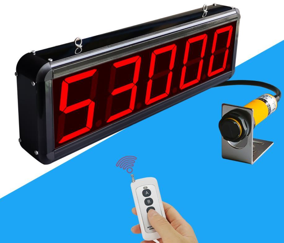 عداد تحريض تدفق الأشعة تحت الحمراء انتقال مع التلقائي حزمة العد إنذار شاشة كبيرة شاشة ديجيتال عد الإلكترونية