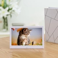 10 inch led digital photo electronic album frame with automatic slideshow and true color lcd display video playing wholesale