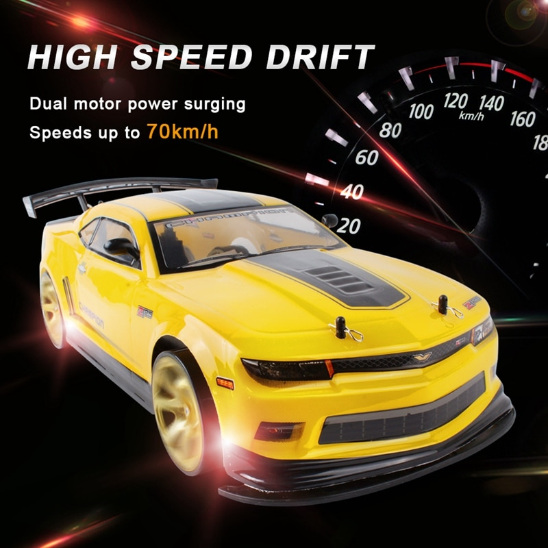 1:10 70Km/H 2.4G RC Car Drift Racing Car Championship 4WD Single Battery Off Road Radio Remote Control Vehicle Toys&Gifts enlarge