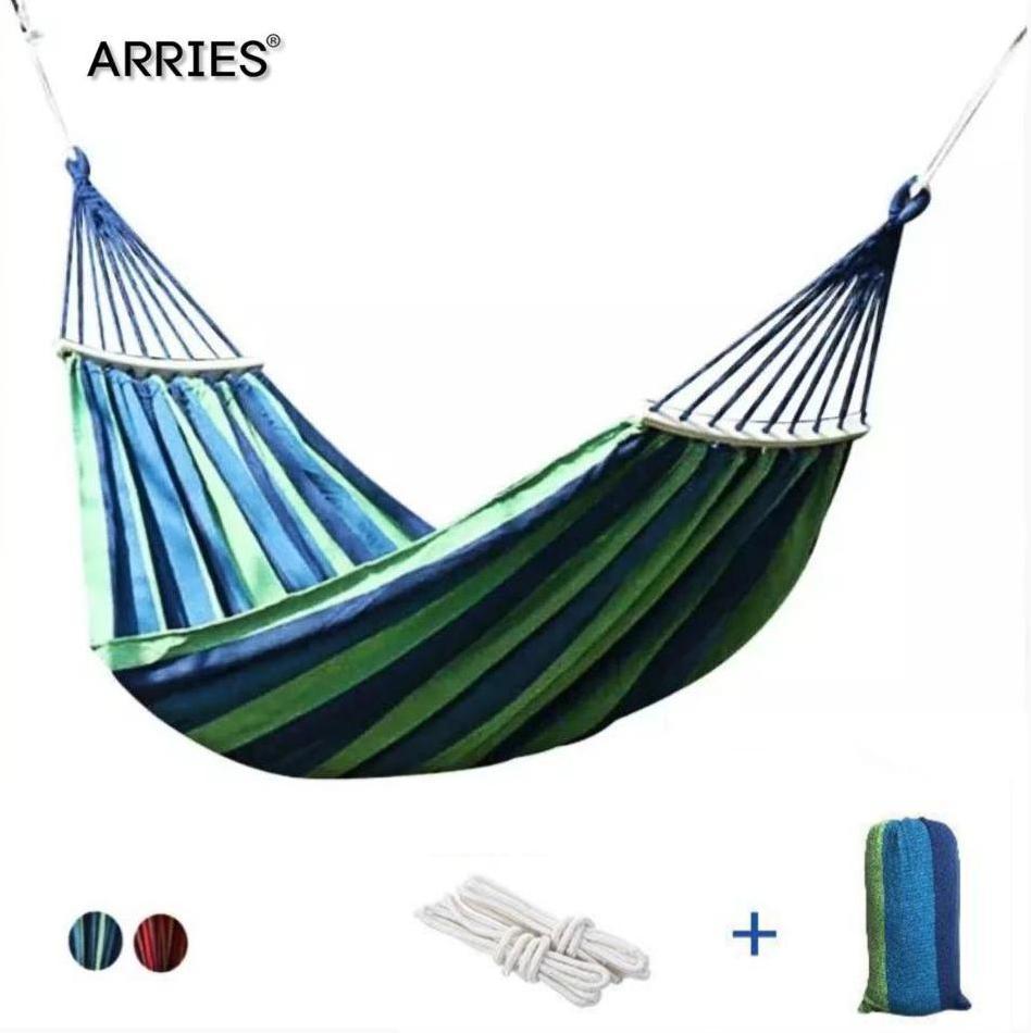 Гамак из толстой холщовой ткани для отдыха на открытом воздухе, на одного человека, 280*80/280*100/280*150, подвесное кресло-качели