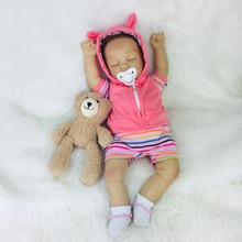 Avani Doll Eve Lifelike Newborn Baby Dolls Realistic Reborn Baby Dolls Soft Vinyl Sleeping Baby Dolls
