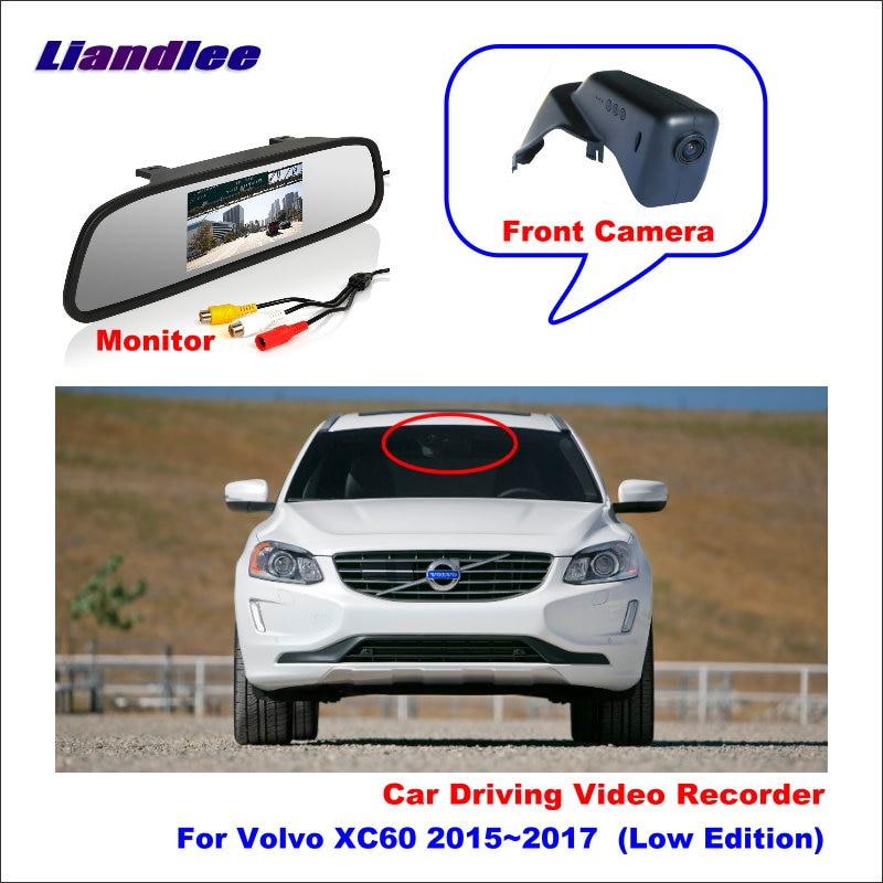 Liandlee For Volvo XC60 2015~2017  (Low Edition) Car Road Record WiFi DVR Dash Camera Driving Video Recorder