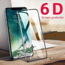 6D Curved Full Cover Tempered Glass Screen Protectors Film  For iPhone 11 Pro Max Protective Glass A