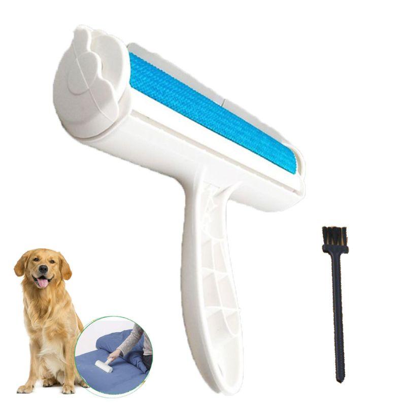 Rodillo removedor de pelo para mascotas, fácil de usar, rodillo de pelo para perros Caseeto, pelo de gato reutilizable