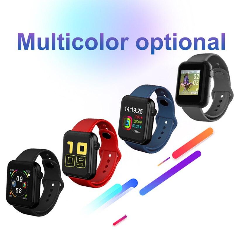 V6 relógio inteligente das mulheres dos homens smartband medição de pressão arterial à prova dwaterproof água rastreador de fitness pulseira monitor de freqüência cardíaca smartwatch