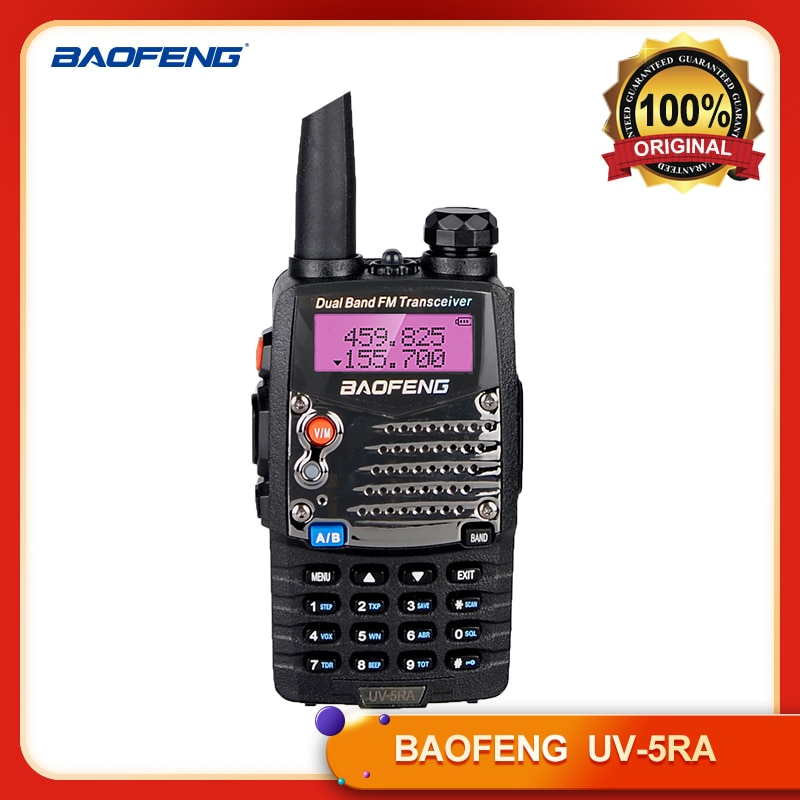 100% оригинальная Портативная радиостанция BAOFENG, Портативная радиостанция baofeng uv 5ra с каналом 128
