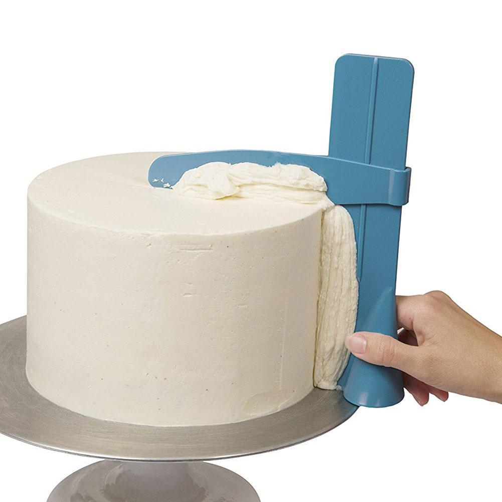 Rascador rotatorio de crema para tartas de altura ajustable decoración de la crema para hornear DIY T moldes de Chocolate Kitchenaid