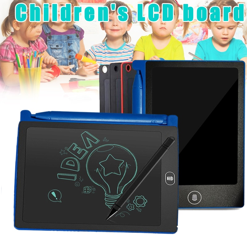 Tablero de escritura LCD para niños, pizarra pequeña, tablero de dibujo de pintura para niños BM88