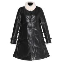 fashion high quality genuine sheepskin leather womens down jacket luxury mink fur collar coat female woman parkas casacozjt295