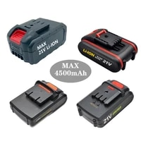 21v high capacity lithium battery 18v high end 18650 power battery electric screwdriver battery hand drill rechargeable battery