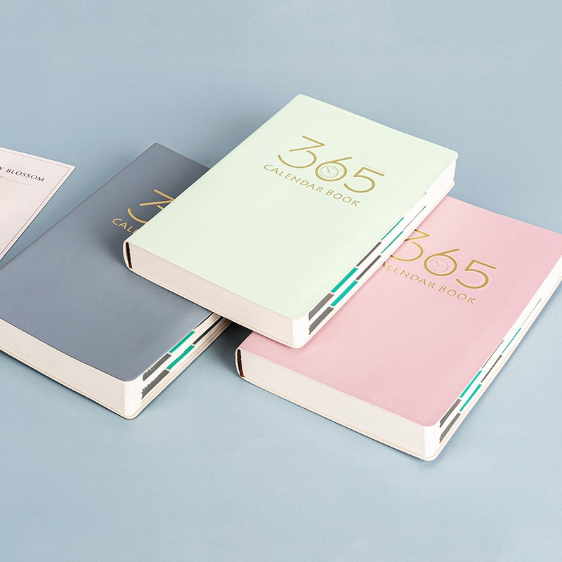 A5 Office 365  Notebook 200 Pages Agenda 2021 Planner Thin Diary Weekly Monthly Plan Book School Supplies Stationery Schedule new products on the shelves lovely flowers schedule diary weekly plan notebook school office supplies lovely stationery