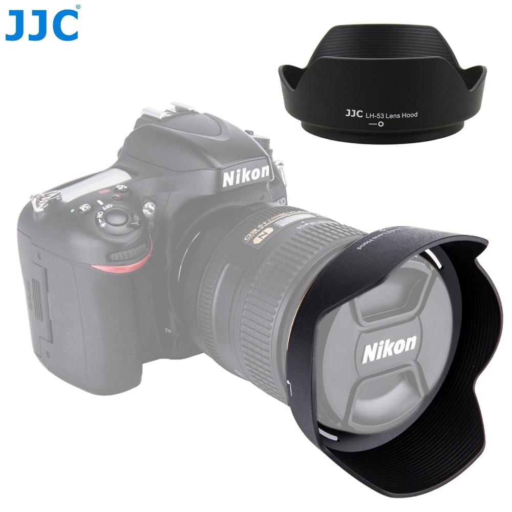 Реверсивная бленда JJC для камеры Nikon, объектив для Nikon, NIKKOR, 24-120 мм, f/4G, ED, VR, заменяет линзу Nikon, объектив с затемнением для объектива Nikon, с возмо...