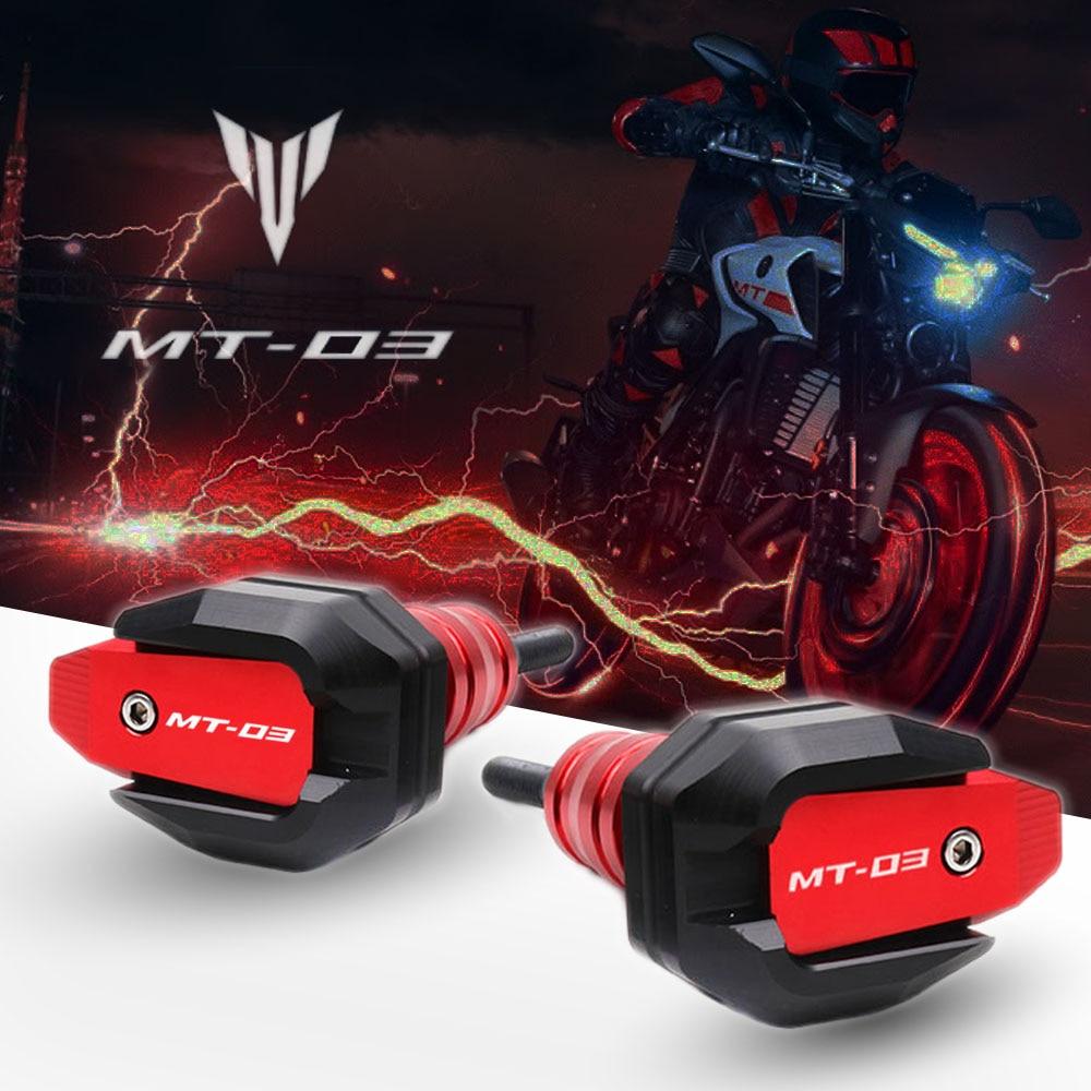 لياماها MT-03 MT03 MT 03 2019-2021 دراجة نارية السقوط حماية الإطار المنزلق هدية الحرس مكافحة تحطم وسادة واقية