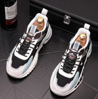 Summer New Fashion  Men's Mesh Sports Sneakers Cool Breathable Flats Casual Comfortable Male Shoes M