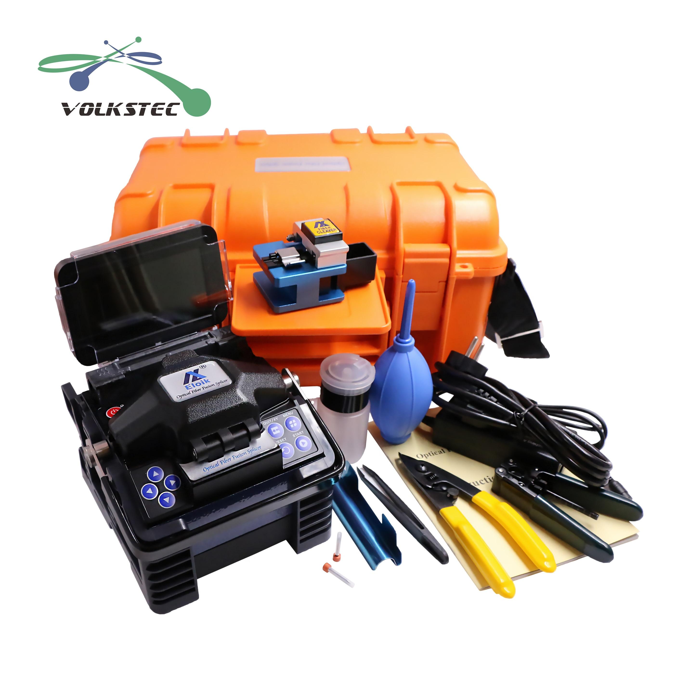 Eloik ALK-88 Fiber Optic Splicing Machine Fusion Splicer device tool kits free shipping фото
