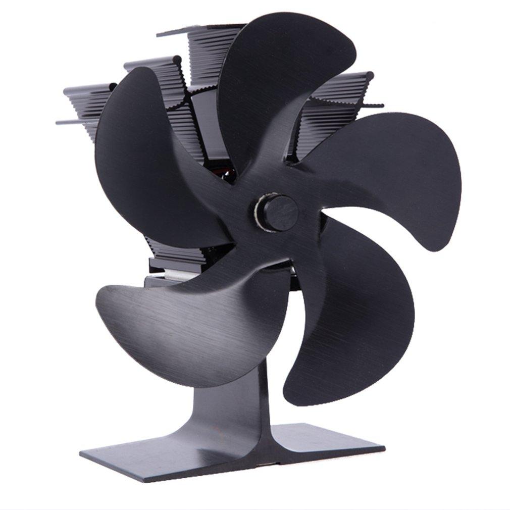 SF101G الطاقة الحرارية مدفأة الموقد خمسة شفرات الموقد مروحة التدفئة كفاءة مسخن الهواء مروحة منخفضة الضوضاء