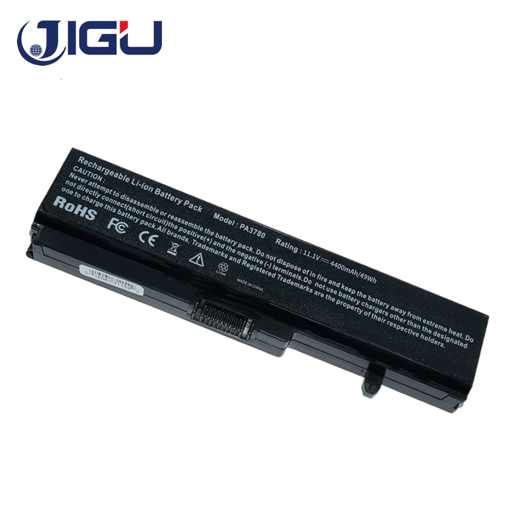 JIGU 6 ячеек Аккумулятор для ноутбука A000062460 PA3780 PABAS21 для Toshiba Portege T130 Satellite T110D T135 Pro T110 Series 11,1 V